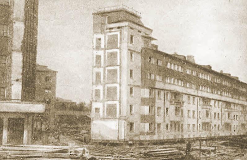 После взрыва на Осипенко, 1967 год